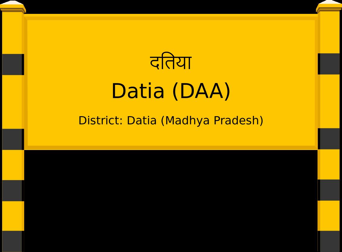 Datia (DAA) Railway Station