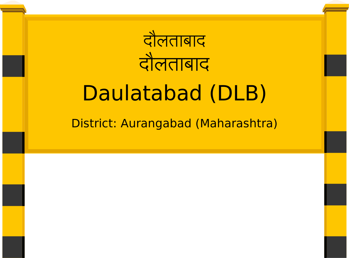 Daulatabad (DLB) Railway Station