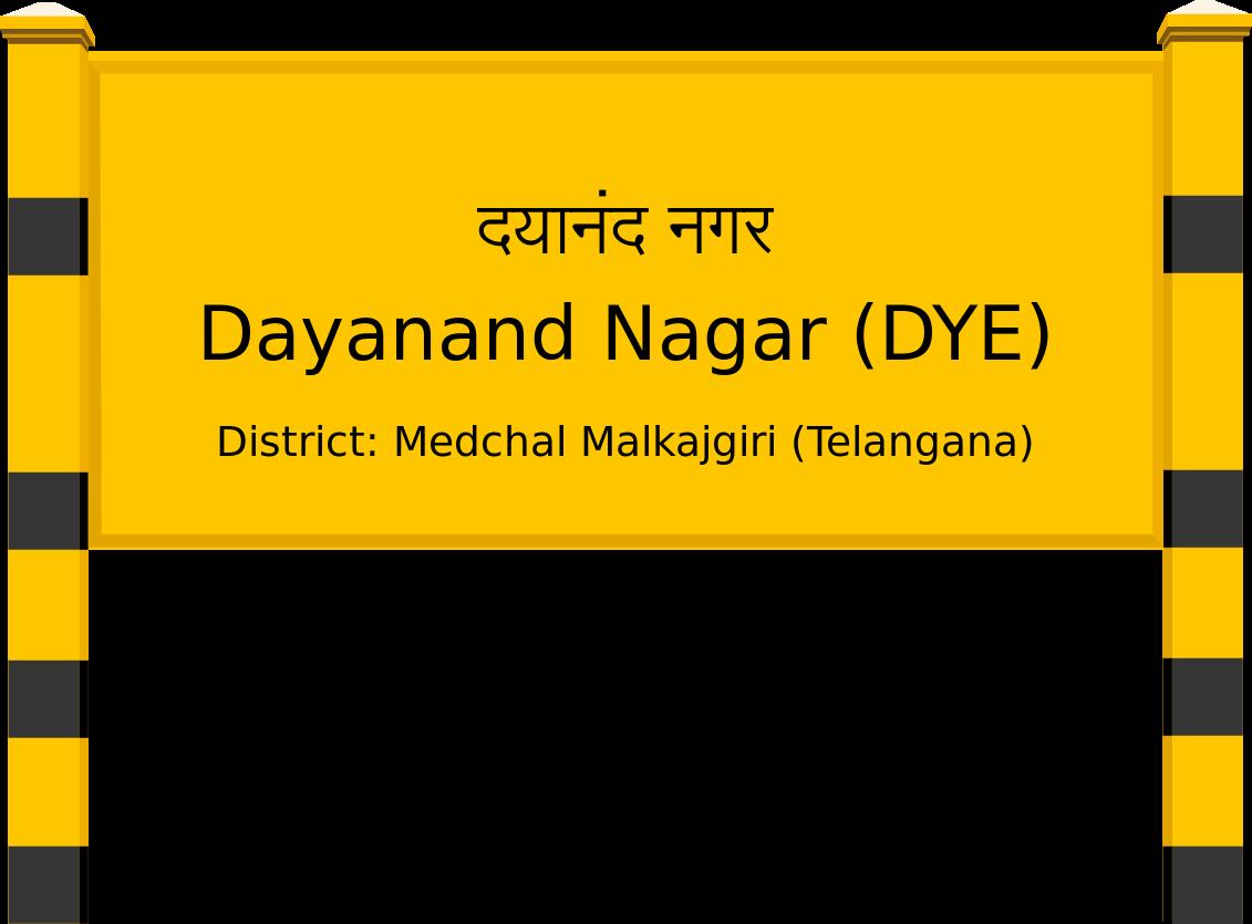 Dayanand Nagar (DYE) Railway Station