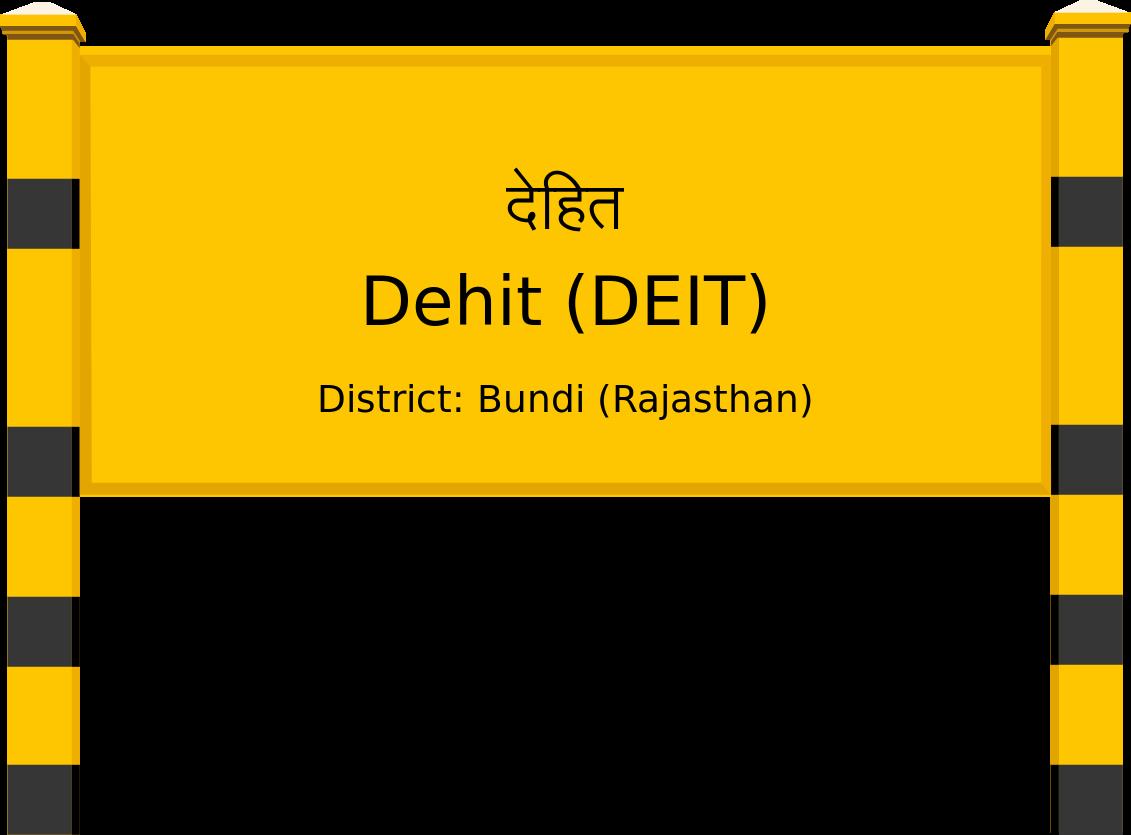 Dehit (DEIT) Railway Station
