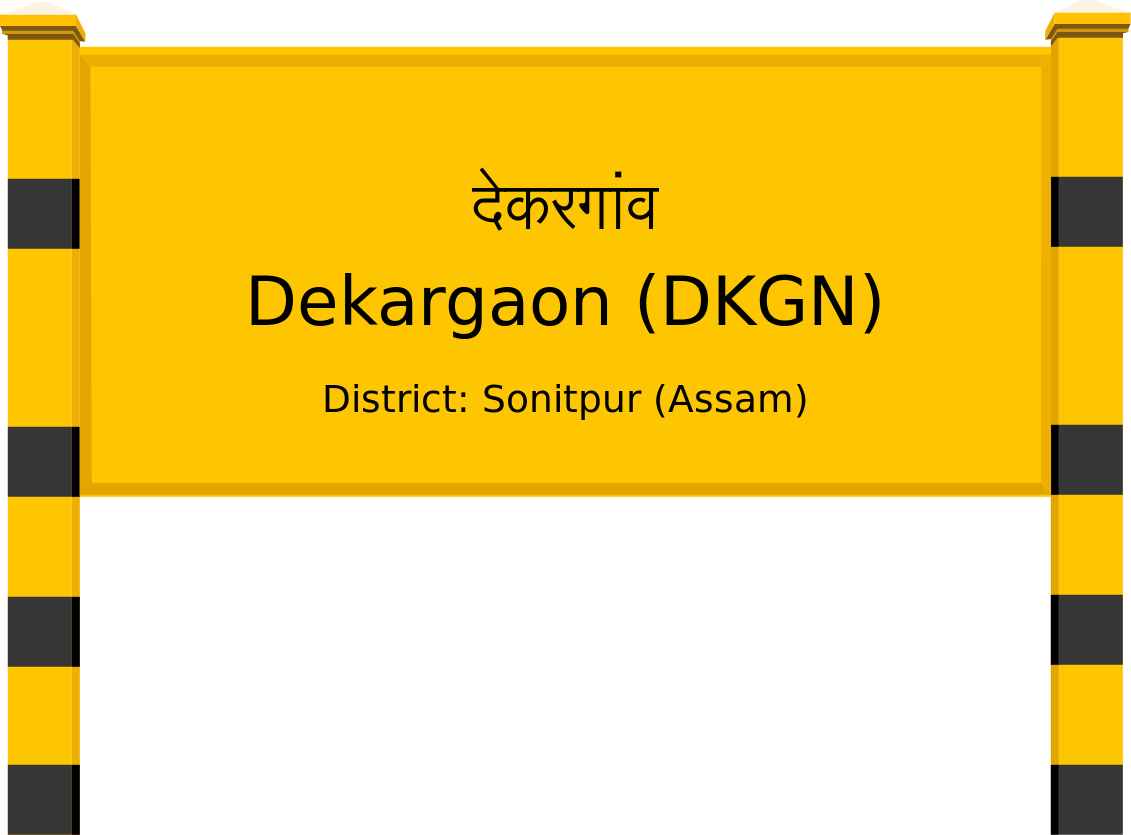 Dekargaon (DKGN) Railway Station