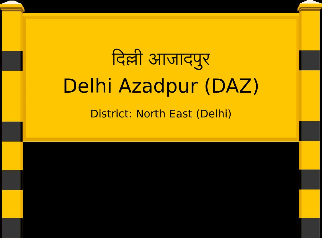 Delhi Azadpur (DAZ) Railway Station