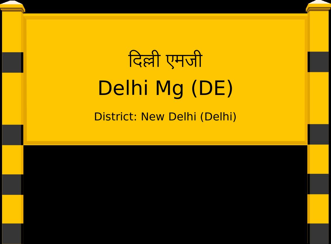 Delhi Mg (DE) Railway Station