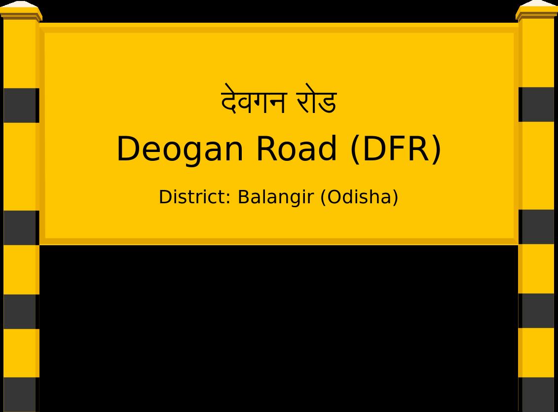 Deogan Road (DFR) Railway Station