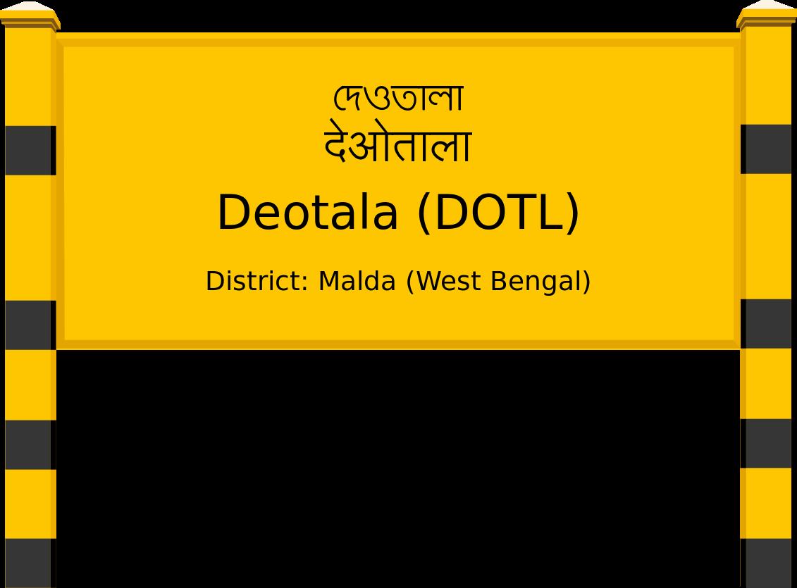 Deotala (DOTL) Railway Station