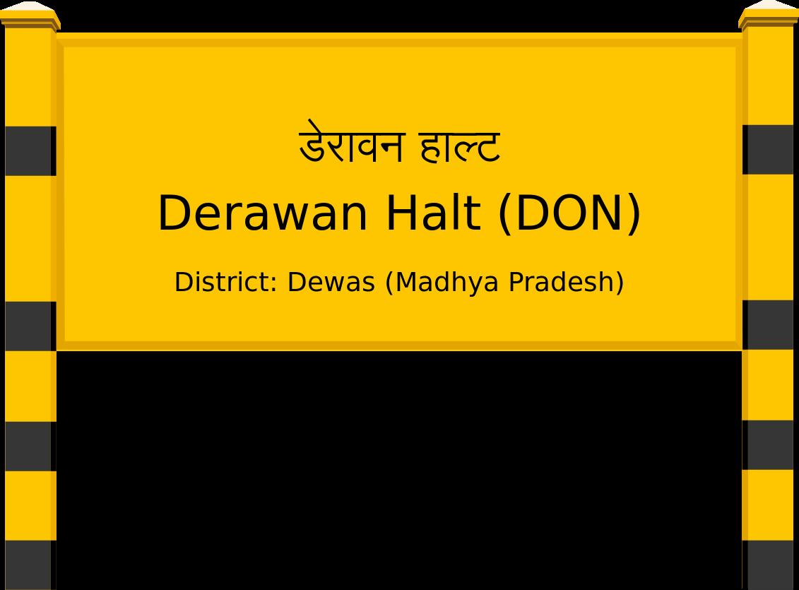 Derawan Halt (DON) Railway Station