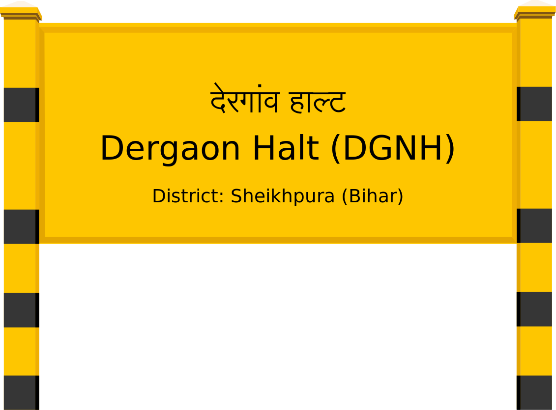 Dergaon Halt (DGNH) Railway Station