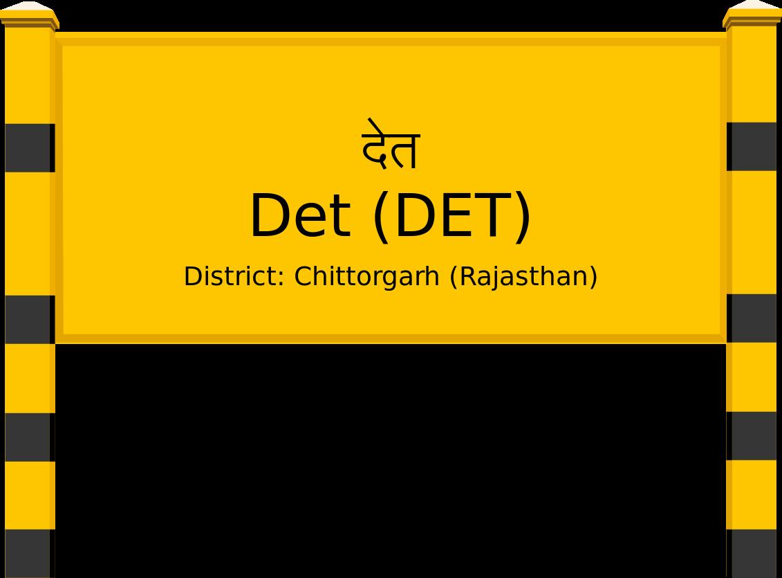 Det (DET) Railway Station