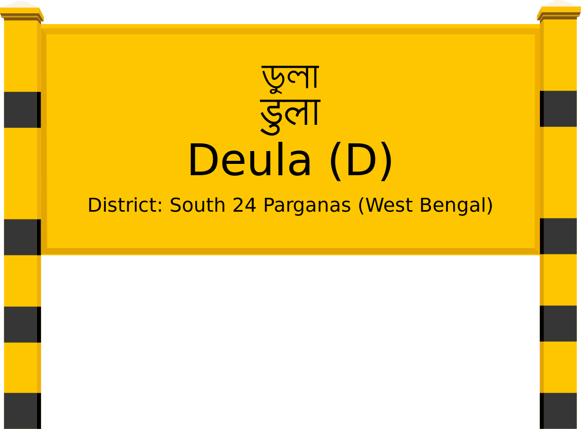 Deula (D) Railway Station