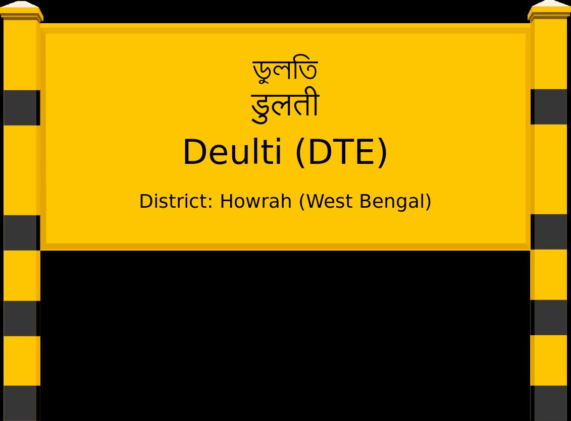 Deulti (DTE) Railway Station