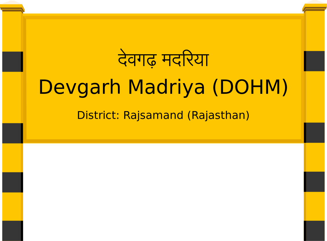 Devgarh Madriya (DOHM) Railway Station
