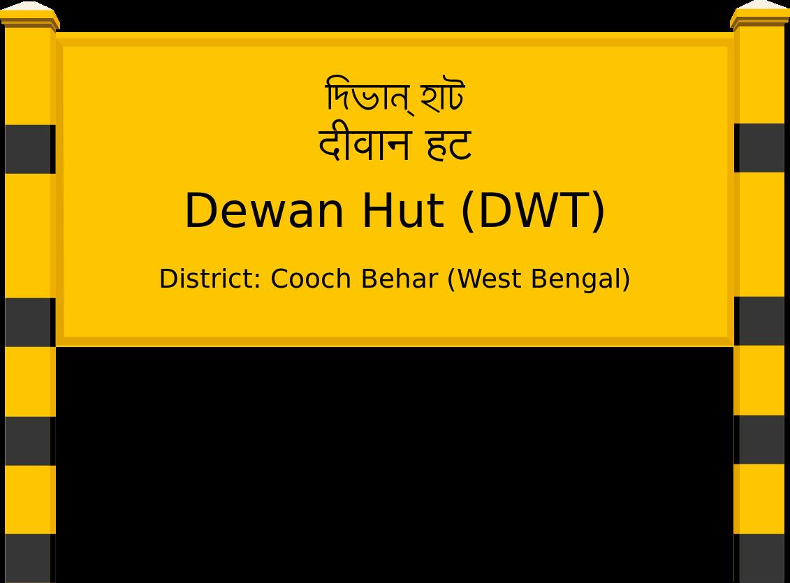 Dewan Hut (DWT) Railway Station