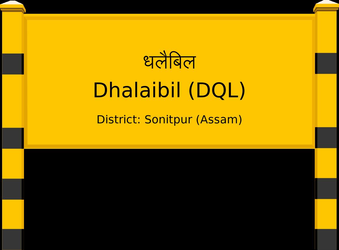 Dhalaibil (DQL) Railway Station