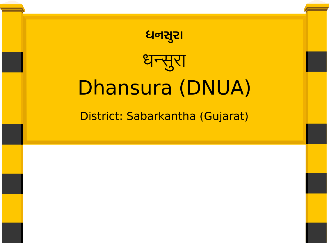 Dhansura (DNUA) Railway Station