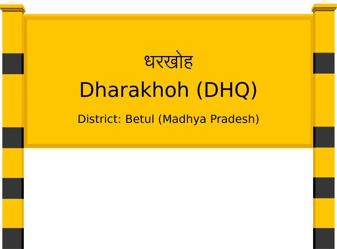 Dharakhoh (DHQ) Railway Station