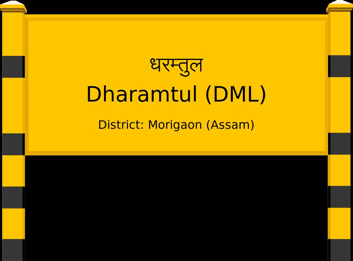 Dharamtul (DML) Railway Station