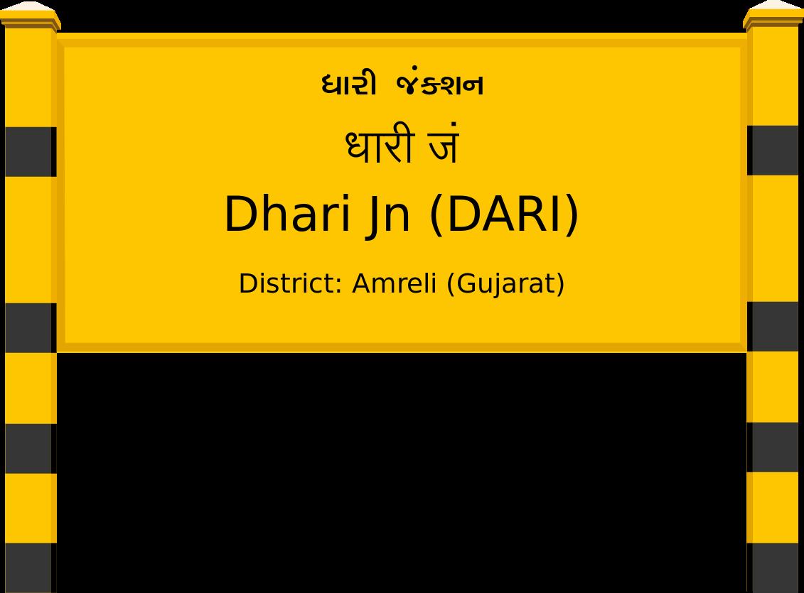 Dhari Jn (DARI) Railway Station