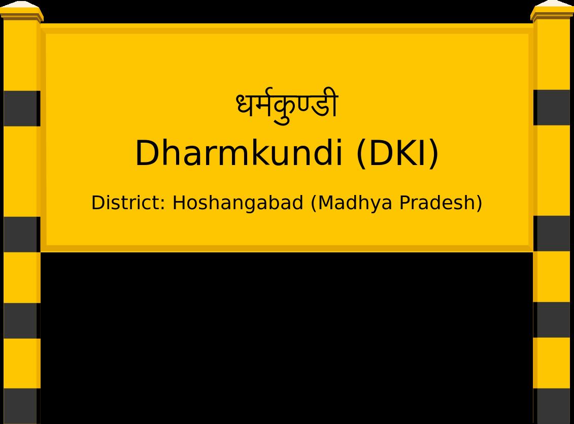 Dharmkundi (DKI) Railway Station