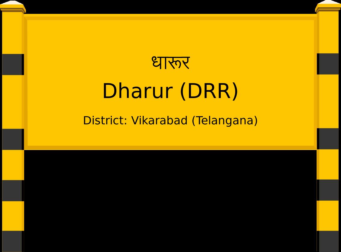 Dharur (DRR) Railway Station