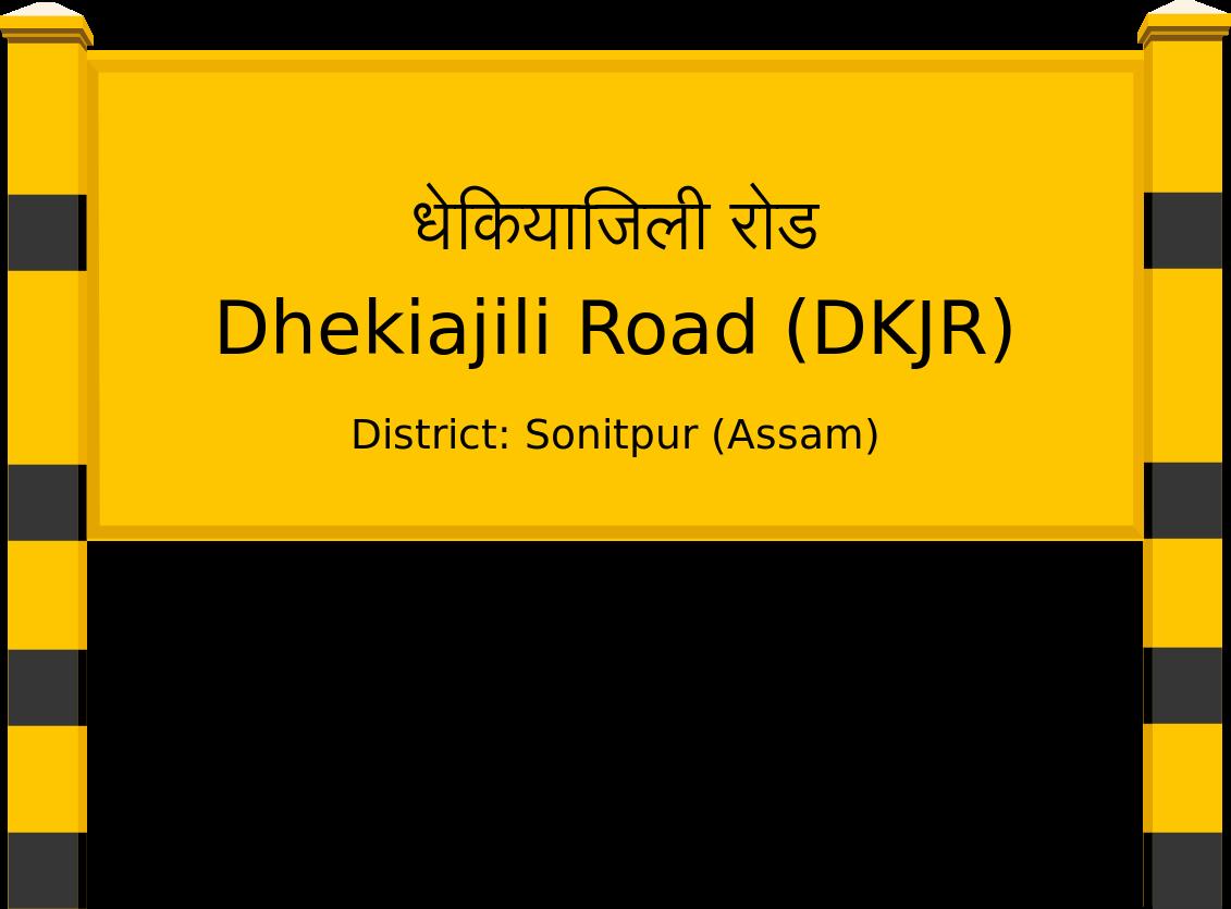 Dhekiajili Road (DKJR) Railway Station