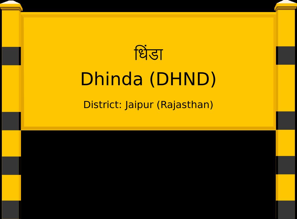 Dhinda (DHND) Railway Station