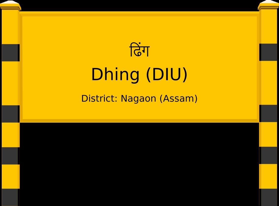 Dhing (DIU) Railway Station