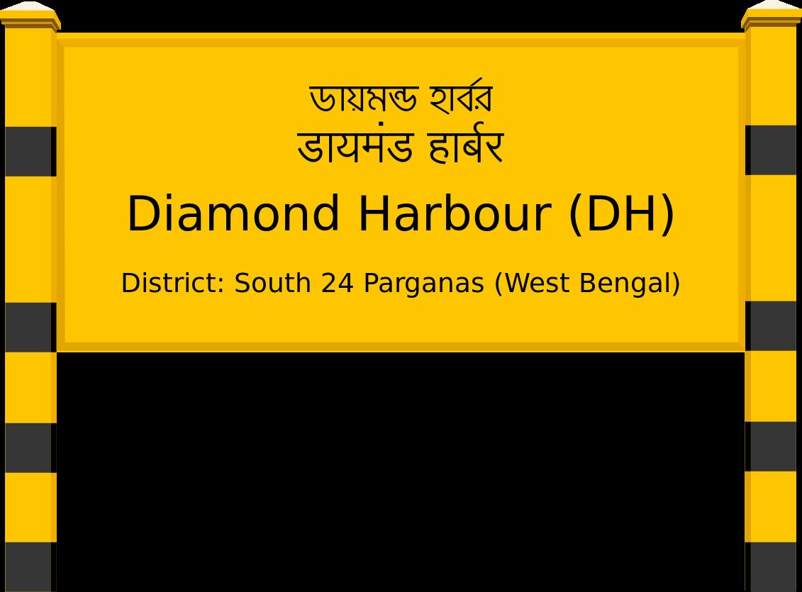 Diamond Harbour (DH) Railway Station