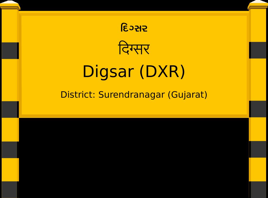 Digsar (DXR) Railway Station