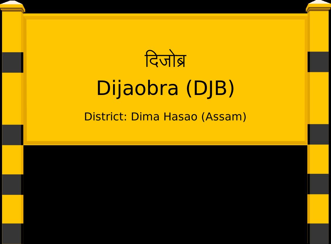Dijaobra (DJB) Railway Station