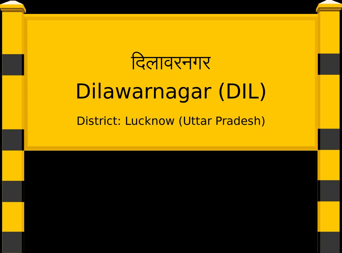 Dilawarnagar (DIL) Railway Station