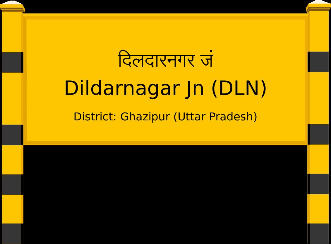 Dildarnagar Jn (DLN) Railway Station