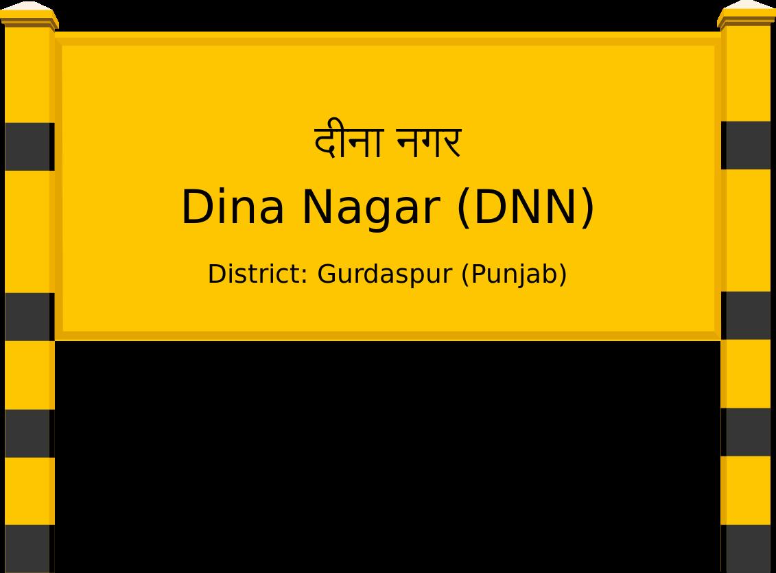 Dina Nagar (DNN) Railway Station