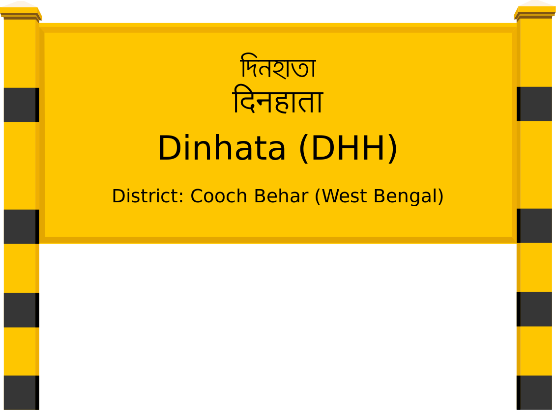 Dinhata (DHH) Railway Station