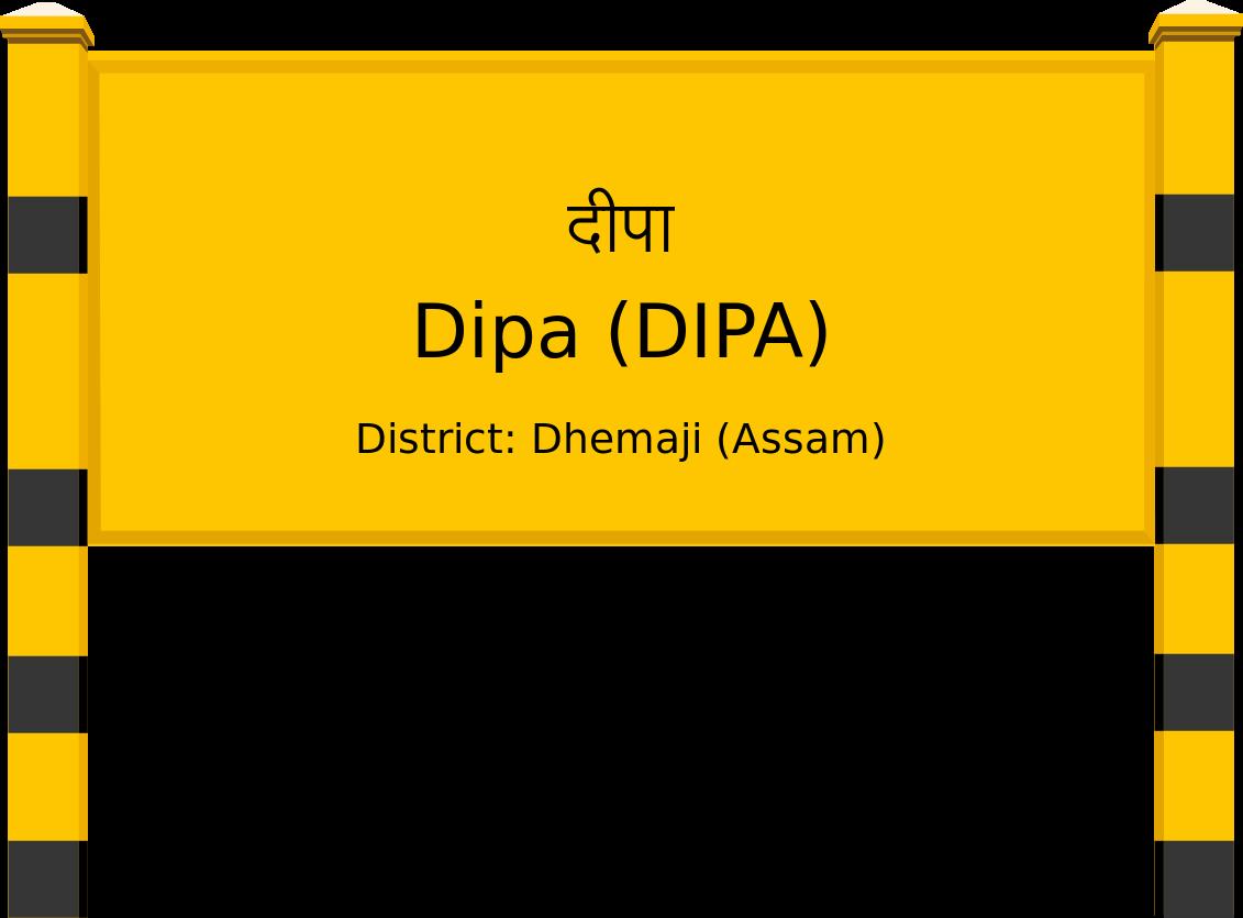 Dipa (DIPA) Railway Station