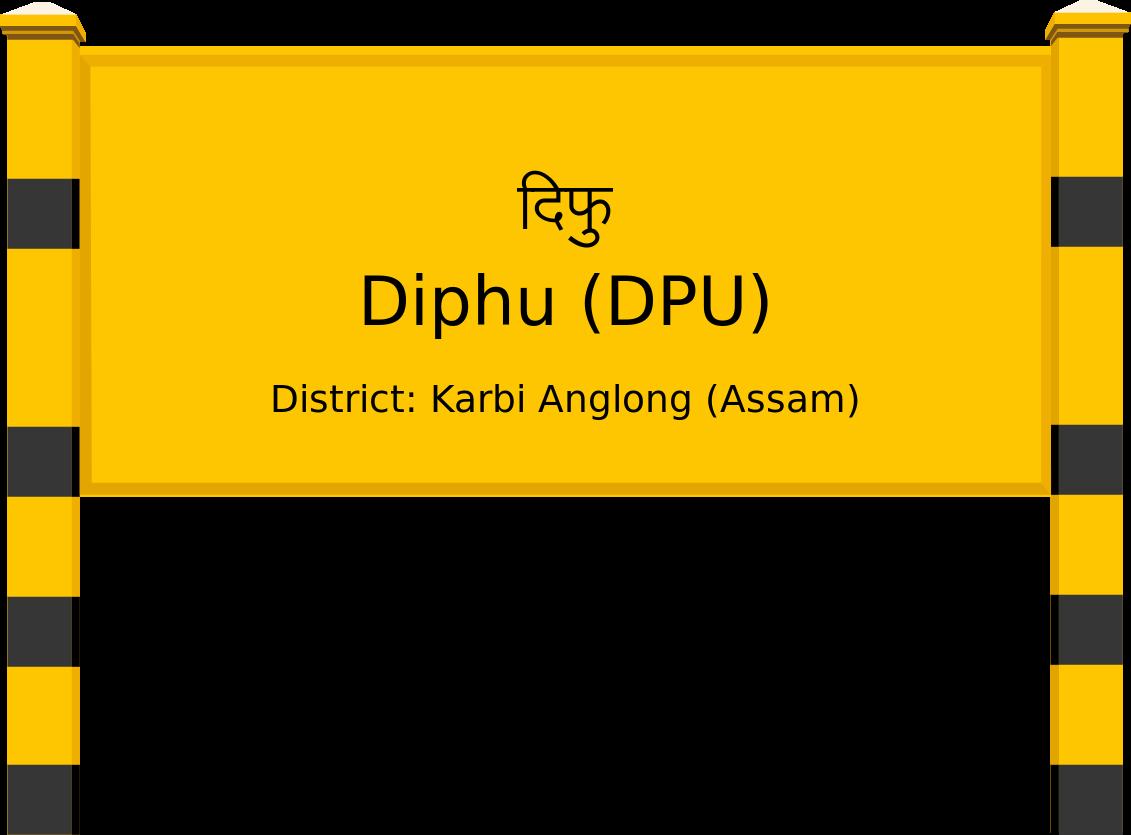Diphu (DPU) Railway Station