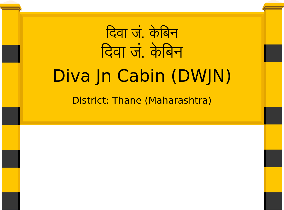 Diva Jn Cabin (DWJN) Railway Station