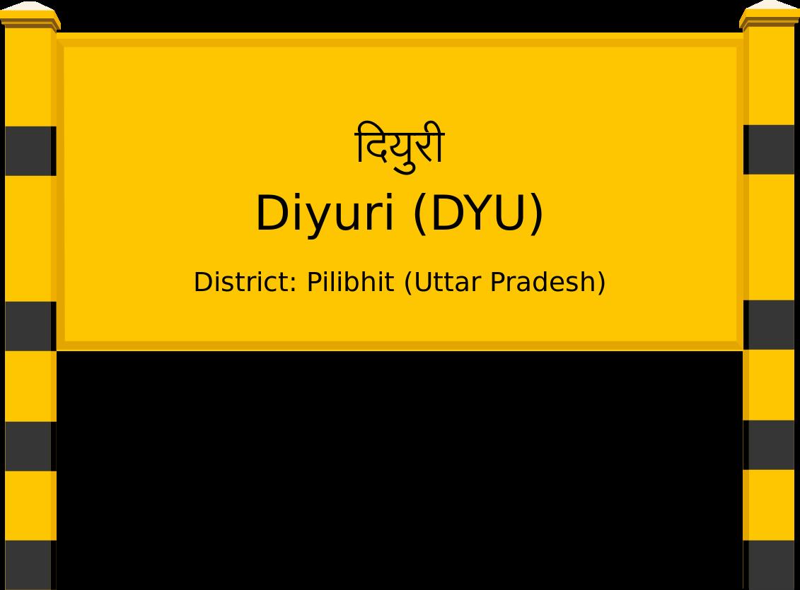 Diyuri (DYU) Railway Station