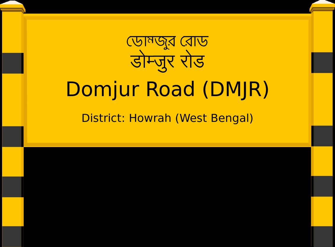 Domjur Road (DMJR) Railway Station