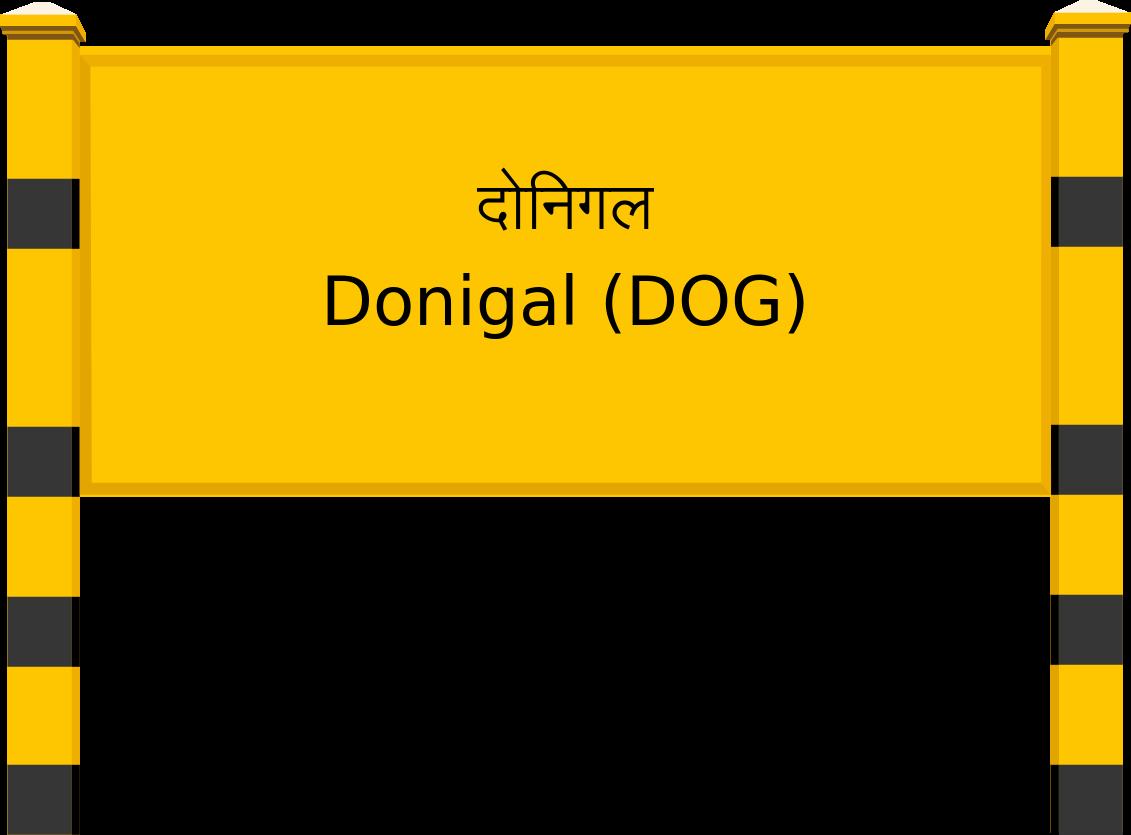 Donigal (DOG) Railway Station