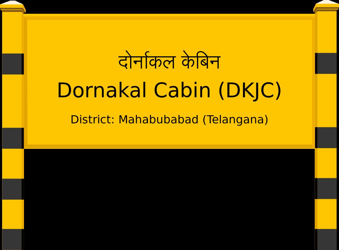 Dornakal Cabin (DKJC) Railway Station