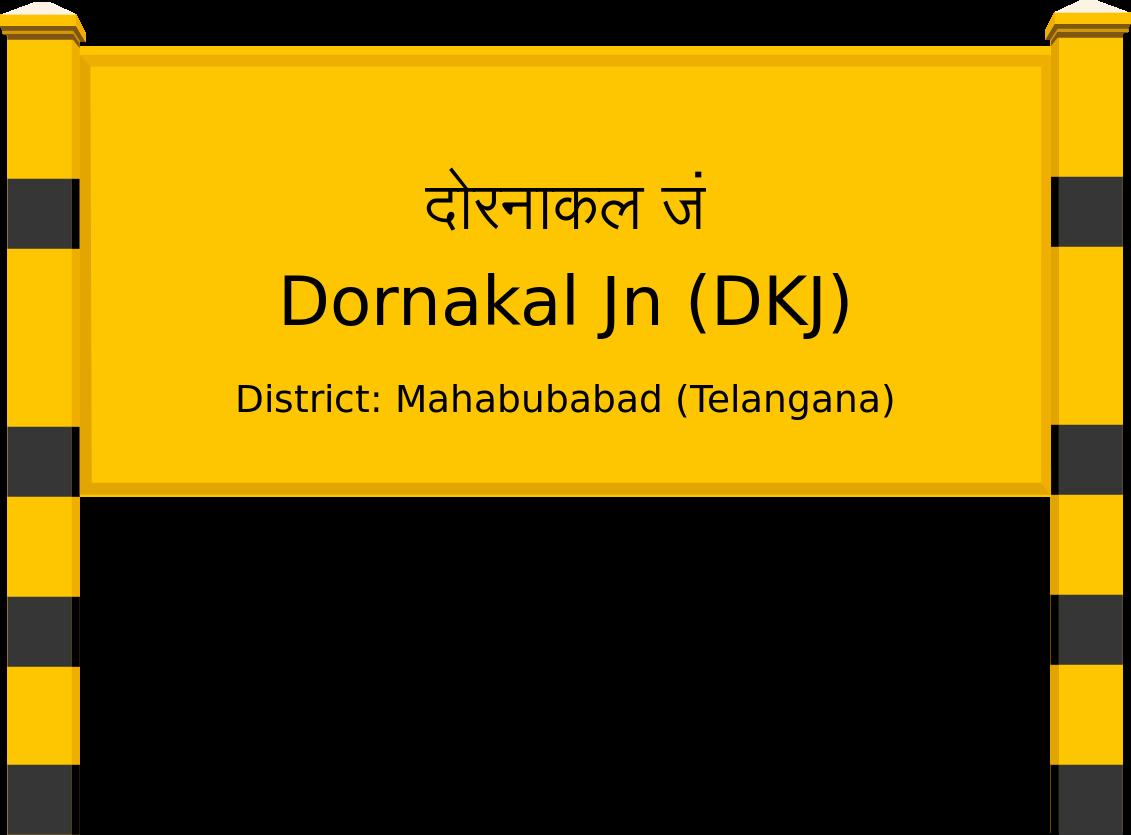 Dornakal Jn (DKJ) Railway Station