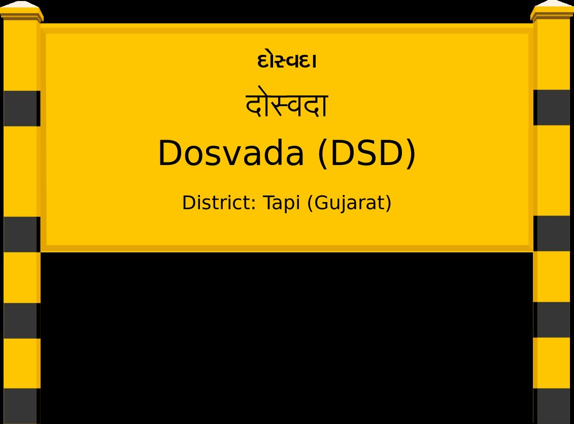 Dosvada (DSD) Railway Station