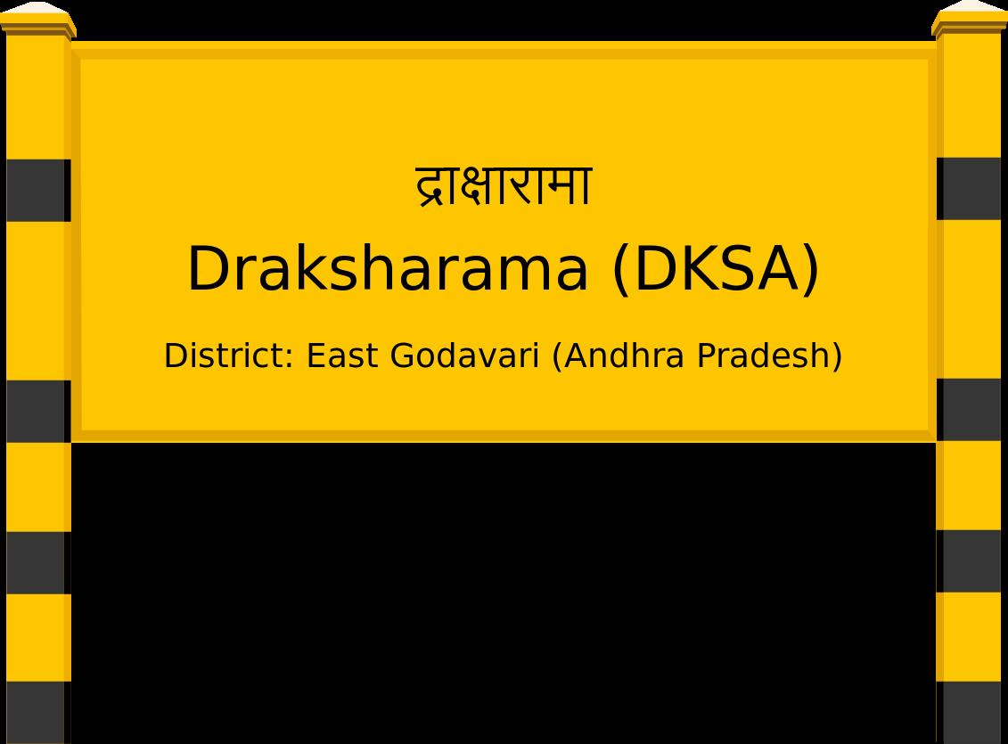 Draksharama (DKSA) Railway Station