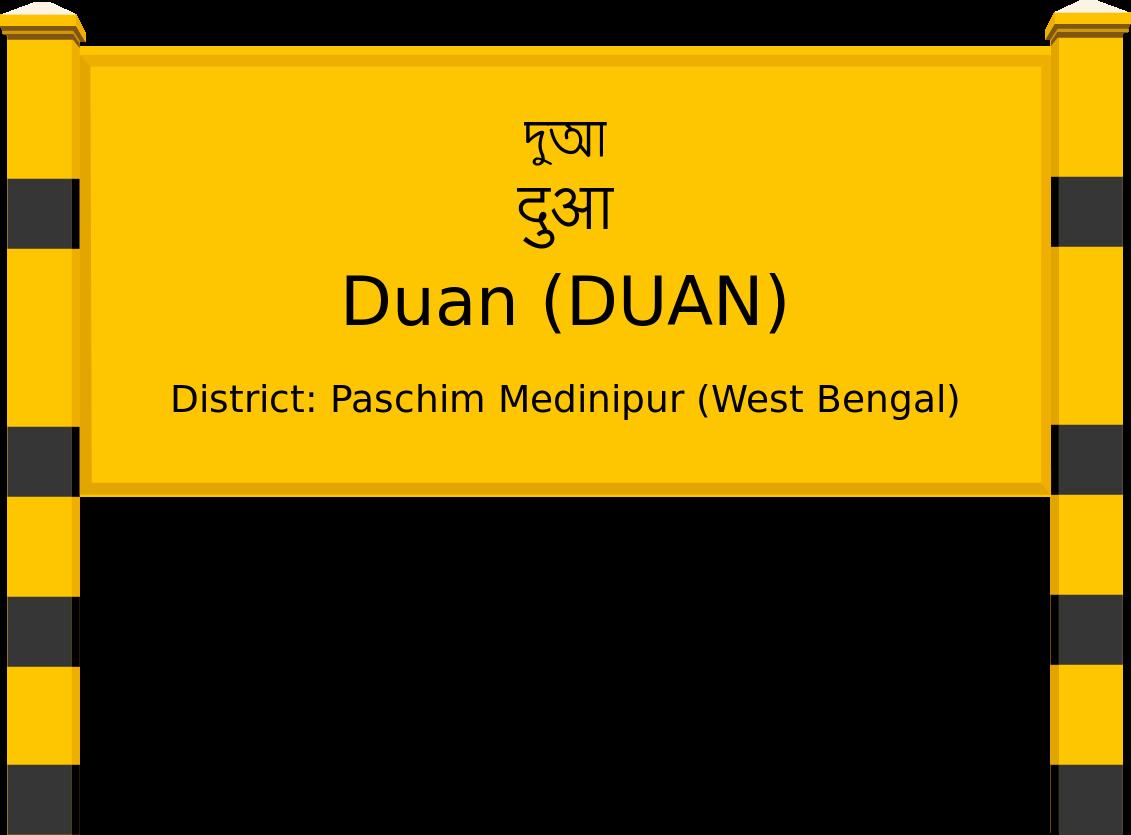 Duan (DUAN) Railway Station