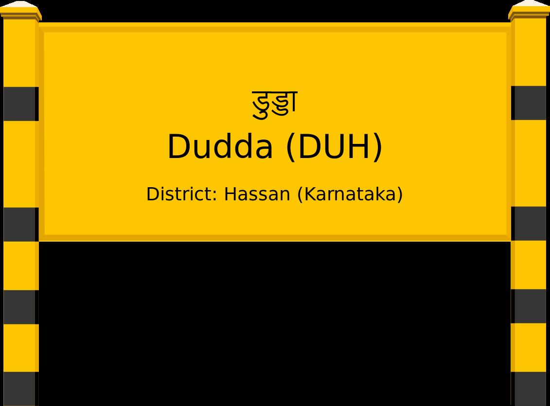 Dudda (DUH) Railway Station
