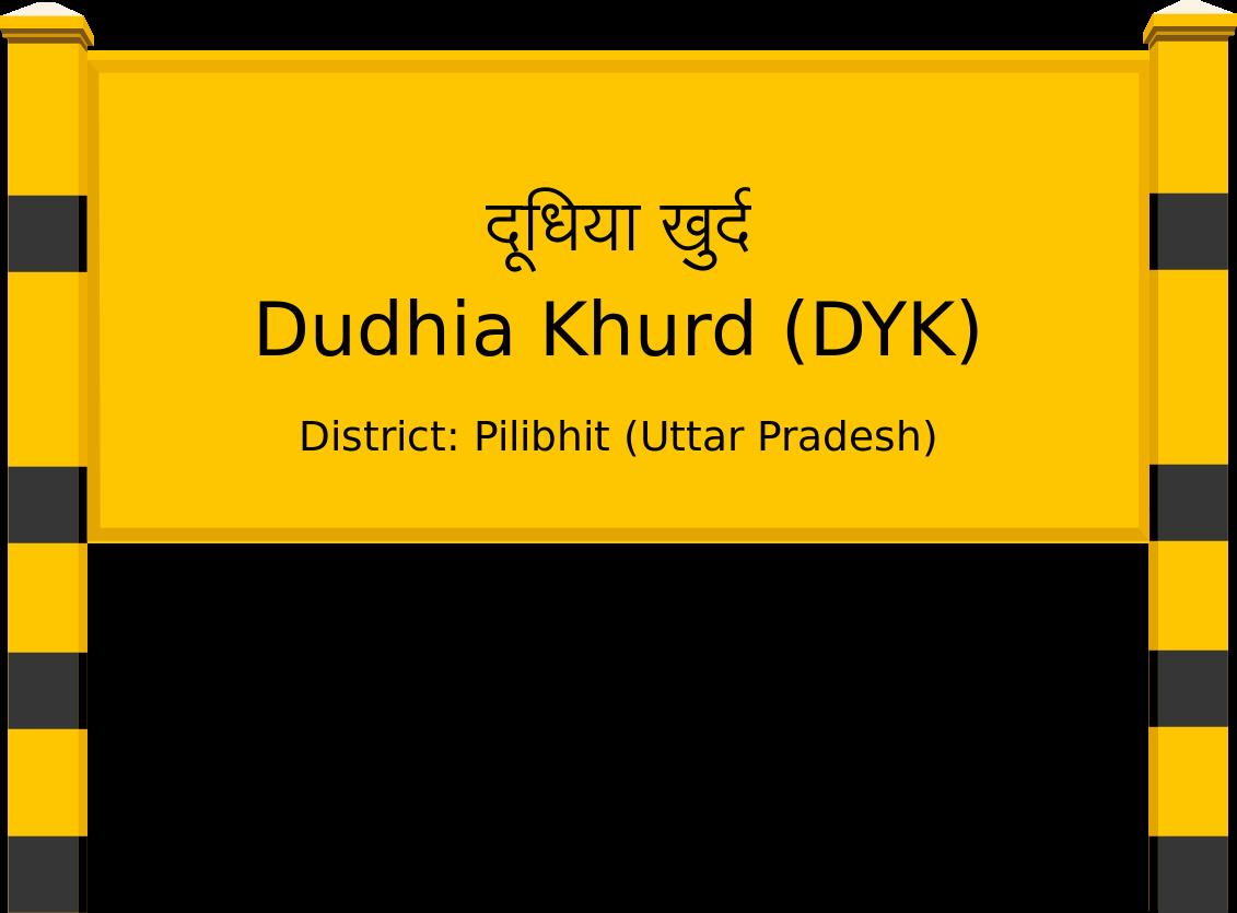 Dudhia Khurd (DYK) Railway Station