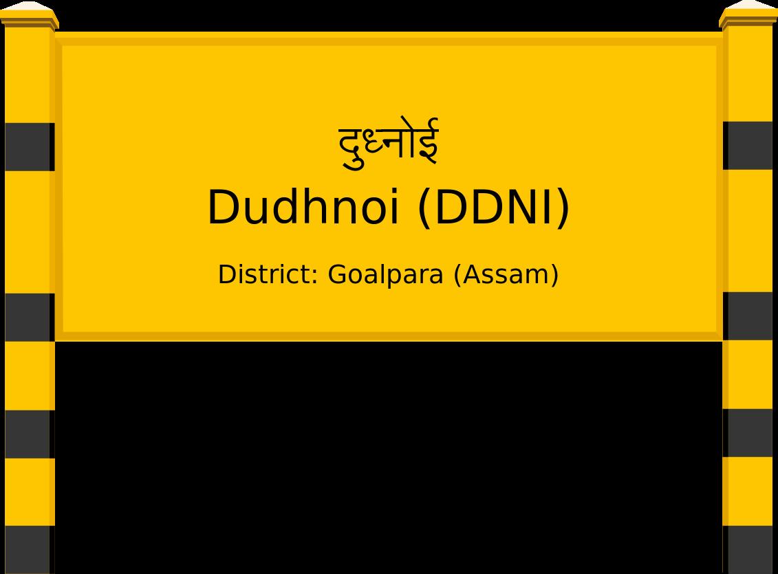 Dudhnoi (DDNI) Railway Station