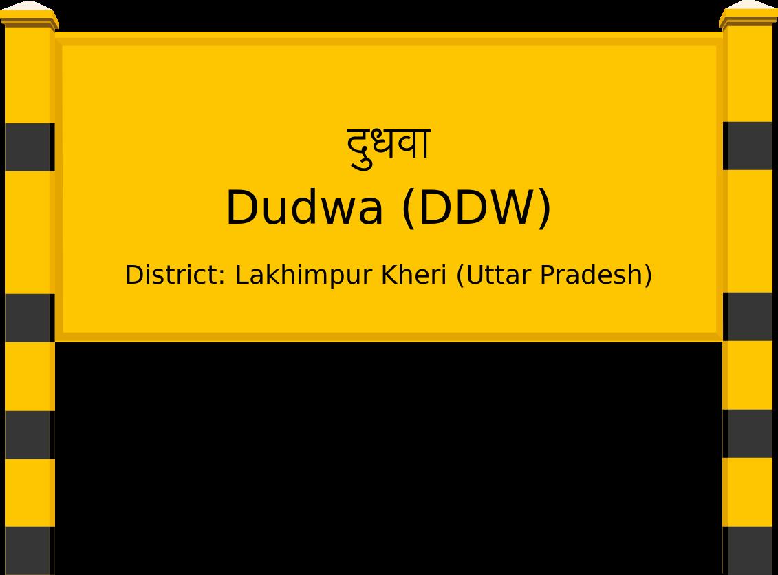 Dudwa (DDW) Railway Station