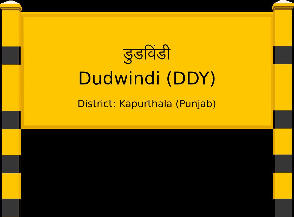 Dudwindi (DDY) Railway Station