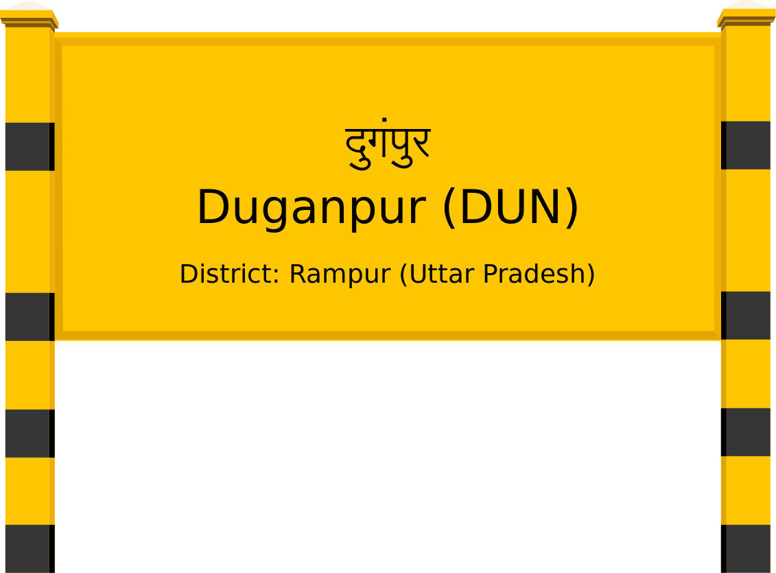 Duganpur (DUN) Railway Station